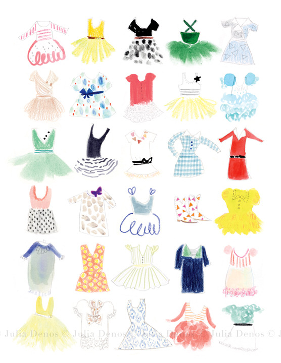 Julia Denos_Spots_Dresses